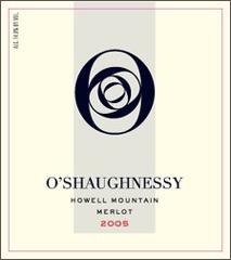 O'Shaughnessy Estate-Merlot
