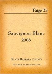 Paige 23 Wines-Sauvignon Blanc