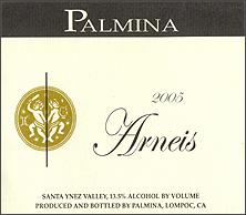 Palmina Wines Arneis