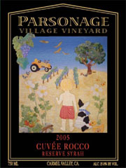 Parsonage Village Vineyard-Cuvee Rocco