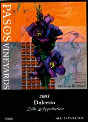 Pasos Vineyards-Dolcetto