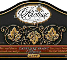 Potomac Point Vineyard and Winery-Cabernet Franc