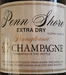 Penn Shore Vineyards Champagne