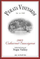 Perata Vineyards-Cabernet Sauvignon