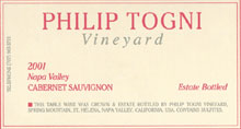 Philip Togni Vineyard-Cab Sauvignon