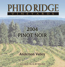 Philo Ridge Pinot Noir
