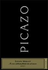 Picazo Vineyards-Estate Merlot