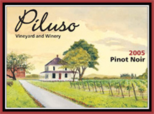 Piluso Vineyard and Winery-Pinot Noir
