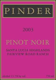 Pinder Winery - San Benito Cabernet Sauvignon