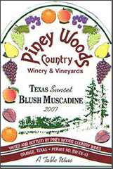 Piney Woods Country Wines-Muscadine