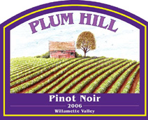 Plum Hill Vineyards-Pinot Noir