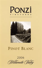 Ponzi Vineyards Reserve Pinot Blanc
