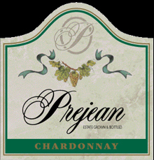 Prejean Winery-Chardonnay