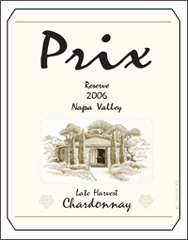 Prix Vineyards-LateHarvestChardonnay