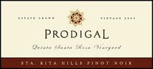 Prodigal Wines-Pinot Noir