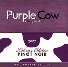 Purple Cow Vineyards-Pinot Noir