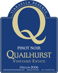 Quailhurst Vineyard Estate-Pinot Noir
