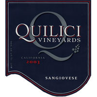 Quilici Vineyard-Sangiovese