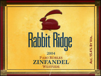 Rabbit Ridge Vineyards - Paso Robles Zinfandel