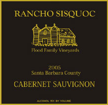 Rancho Sisquoc Winery-Cabernet Sauvignon