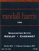 Randall Harris Wines-Cab Merlot