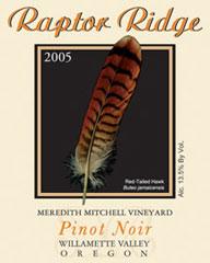 Raptor Ridge Winery-Pinot Noir