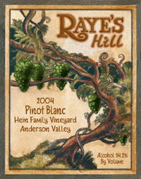 Raye&#39s Hill Vineyards Pinot Blanc