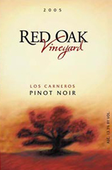 Red Oak Winery and Vineyard-Pinot Noir