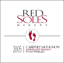 Red Soles Winery-Cabernet Sauvignon