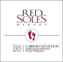 Red Soles Winery-Cabernet Sauvignon