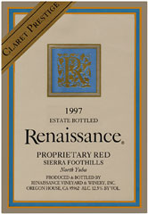 Renaissance Vineyard & Winery - Claret Prestige