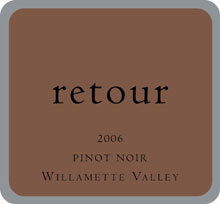 Retour Wines-Pinot Noir