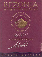 Rezonja Wine Cellars - Alexander Valley