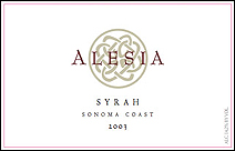 Rhys Vineyards - Alesia Sonoma Coast Syrah