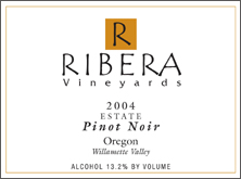 Ribera Vineyards Pinot Noir