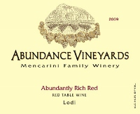 Abundance Vineyards-Rich Red