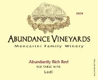 Abundance Vineyards-Rich Red