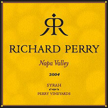 Richard Perry Vineyards-Syrah