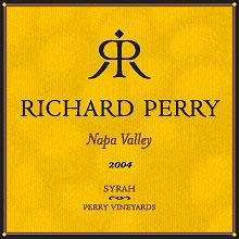 Richard Perry Vineyards-Syrah