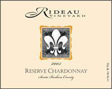 Rideau Vineyard-Chardonnay