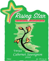 Rising Star Vineyard and Winery-Cabernet Sauvignon