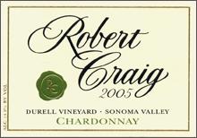 Robert Craig - Chardonnay