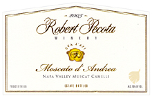 Robert Pecota Winery-Moscato