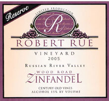 Robert Rue Vineyard-Zinfandel