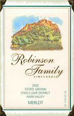 Robinson Family Vineyards-Merlot