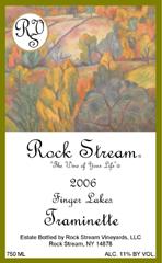 Rock Stream Vineyards-Traminette
