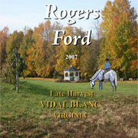 Rogers Ford Farm Winery-Late Harvest
