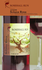 Rosehall Run Vineyards-Solana Rosa