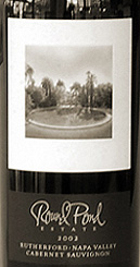 Round Pond - Rutherford, Napa Valley Cabernet Sauvignon