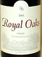 Royal Oaks Winery-Syrah